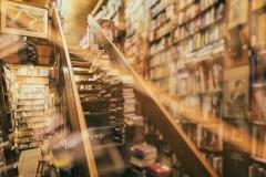书店的主楼梯